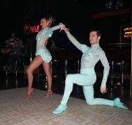 Dünya Latin Dansları Şampiyonu Emek ve Büşra'dan dans şov