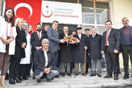 Erciş'teki aile sağlık merkezine ziyaret