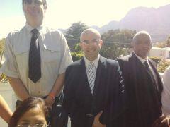 Güney Afrika'ya Vanlı Cumhurbaşkanı adayı