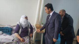 Kaymakam Dundar'dan hastalara ziyaret