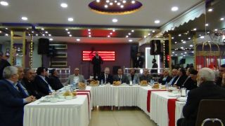 Milletvekili Arvas'tan vefa yemeği