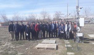 Öğrencilerden Meteoroloji 14. Bölge Müdürlüğüne ziyaret