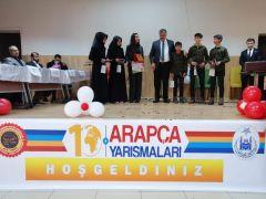Özalp ilçesinde 'Arapça Şarkı Yarışması' düzenlendi