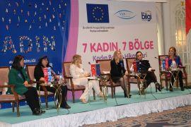 Van'da '7 Kadın 7 Bölge Başarı Hikayeleri' programı