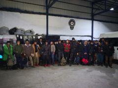 Van'da 32 kaçak göçmen yakalandı