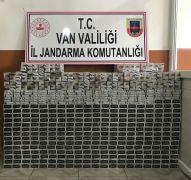 Van'da 4 bin 180 paket kaçak sigara ele geçirildi