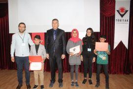 Van'da TÜBİTAK ödül töreni