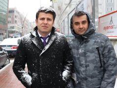 Van'da mart ayında kar yağışı