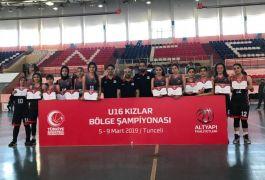 Van Büyükşehir Belediyespor Bayan Basketbol Takımı bölge şampiyonu oldu