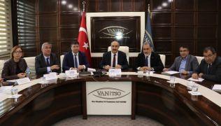Van TSO'da 'Ticarette Yaşanan Sorunlar ve İhracatta Devlet Destekleri' toplantısı