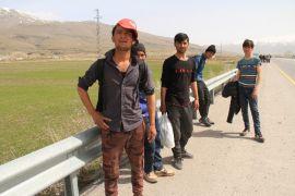 Ankara'ya gitmeye çalışan 60 kaçak göçmen yakalandı