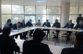 Erciş'te 'inci kefali' konulu toplantı