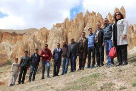 Gazeteciler Vanadokya'yı gezdi