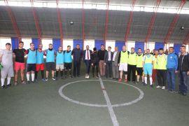 Gürpınar'da futbol turnuvası