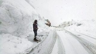 Karla mücadele nisan ayında da devam ediyor
