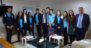 Öğrencilerden Özel Lokman Hekim Van Hastanesine ziyaret