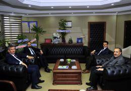 Rektör Şevli'ye 'hayırlı olsun' ziyaretleri devam ediyor