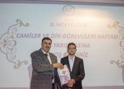 Van'da Hafızlık ve Kur'an-ı Kerim-i Güzel Okuma Yarışması