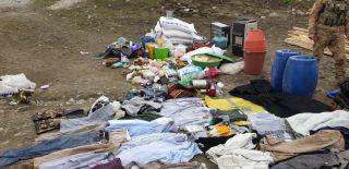 Van'da PKK'ya ait depo ve sığınaklar imha edildi