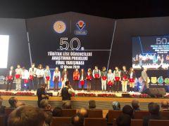 Vanlı öğrencinin projesi Türkiye birincisi seçildi
