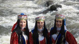 9. Uluslararası inci kefal göçü kültür ve sanat festivali başladı