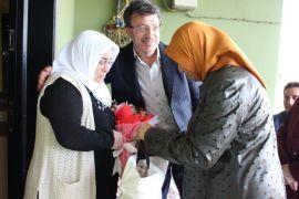 AK Parti'li Türkmenoğlu, terör mağduru anneleri unutmadı