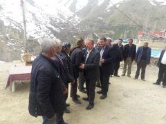 Başkan Arvas'tan teşekkür ziyaretleri