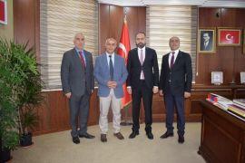 Başkan Ensari'den Rektör Şevli'ye ziyaret