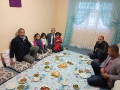 Başkan Ensari, Çıtırki ailesiyle iftar açtı