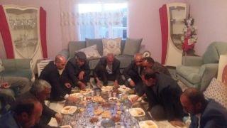 Başkan Ensari, Topgaç ailesiyle iftar açtı
