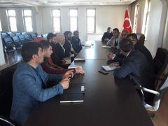 Başkan Esnari, belediye çalışanlarıyla bir araya geldi