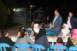 Çatak'ta şehit yakınları ve gazilere iftar yemeği