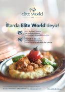 Elite World'den 5 yıldızlı iftar keyfi