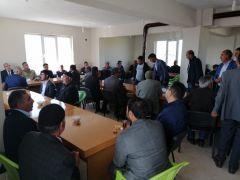Kaymakam Dundar'dan Topgaç'ın ailesine taziye ziyareti