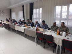 Kaymakam Dundar ve Başkan Ensari öğretmenlerle iftar açtı