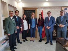 Kaymakam Uçar'dan Türkiye birincisi öğrenciye ödül