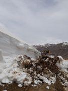 Mayıs ayında karla mücadele çalışması