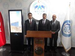 Vali Bilmez'den Başkan Ensari'ye ziyaret