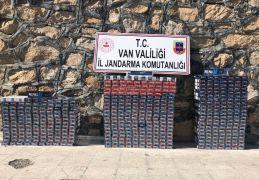 Van'da 7 bin 430 paket kaçak sigara ele geçirildi