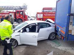 Van'da zincirleme trafik kazası: 6 yaralı