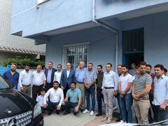 Ak Parti'li İrfan Kartal'dan seçim çalışması