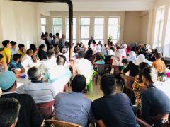 Başkan Çetin, vatandaşlarla bir araya geldi