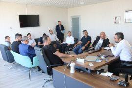 Başkan Say, yerel gazete temsilcileriyle bir araya geldi
