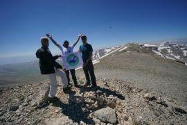 Dağcılar, 3395 rakımlı Vivara Dağı'nda zirve yaptılar
