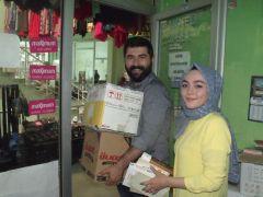 Gazetecinin kitap kampanyasına Denizli'den büyük destek