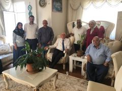 Milletvekili Kartal'dan bayram ziyareti