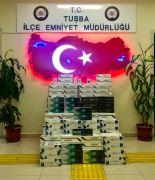 Van'da 3 bin 750 paket kaçak sigara ele geçirildi