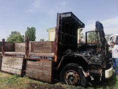 Yediemin otoparkındaki araçlar yandı