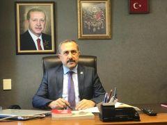 """AK Parti Milletvekili Arvas'tan """"Gazeteciler ve basın bayramı"""" mesajı"""