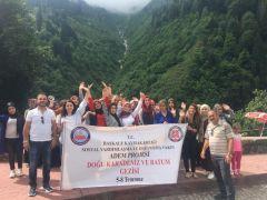Başkaleli kadınlar Karadeniz ve Batum'u gezdi